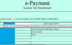 Income Tax ePayment inSummary