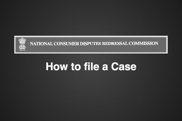 How to file case in NCDRC inSummary