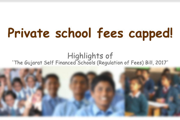 Gujarat private school fees capped insummary.in