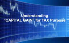 Understanding Capital Gain for Tax Purpose